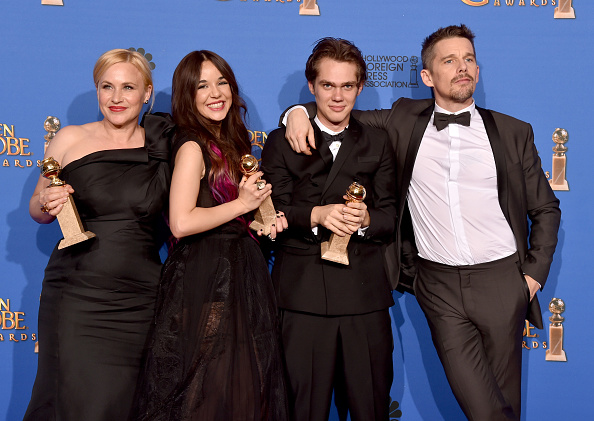 The Beverly Hilton Hotel「72nd Annual Golden Globe Awards - Press Room」:写真・画像(16)[壁紙.com]