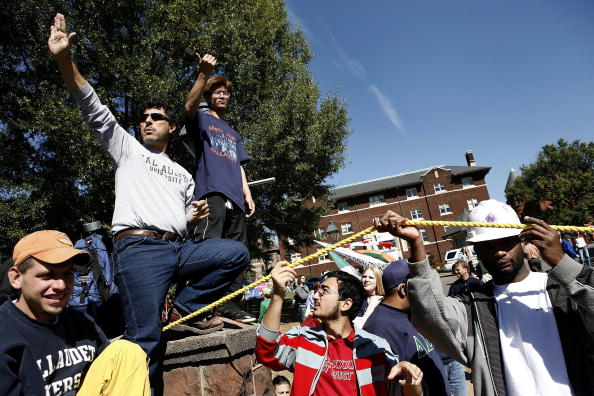 Joshua Roberts「Gallaudet University Protestors Blockade Campus」:写真・画像(15)[壁紙.com]