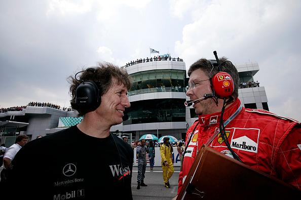 Malaysian Formula One Grand Prix「Mario Illien, Ross Brawn, Grand Prix Of Malaysia」:写真・画像(14)[壁紙.com]