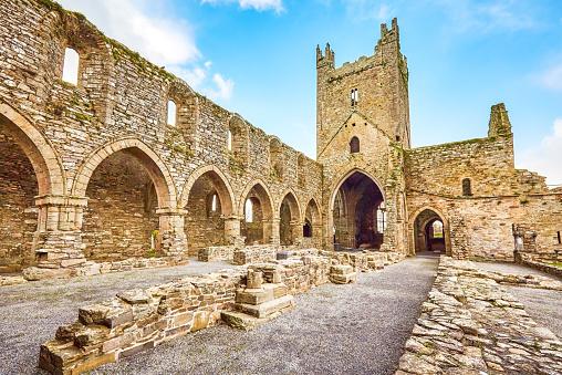 Abbey - Monastery「Jerpoint Abbey, County Kilkenny」:スマホ壁紙(11)