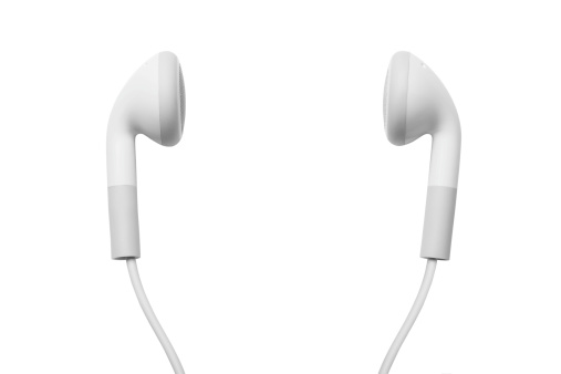 Headphone「earbuds」:スマホ壁紙(5)