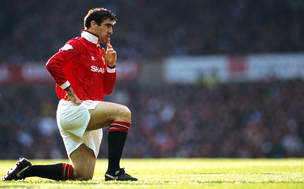 Club Soccer「Eric Cantona Manchester United」:写真・画像(10)[壁紙.com]