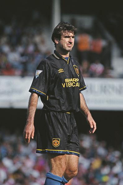 Soccer Uniform「Eric Cantona Manchester United 1993」:写真・画像(6)[壁紙.com]