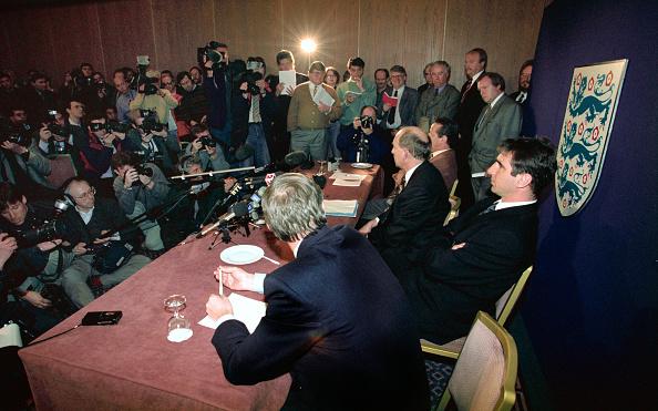 Press Room「Eric Cantona FA Disciplinary Hearing 1995」:写真・画像(17)[壁紙.com]