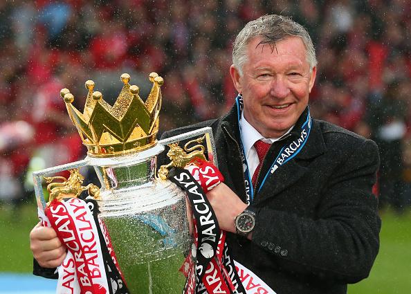 Celebration「Manchester United v Swansea City - Premier League」:写真・画像(4)[壁紙.com]