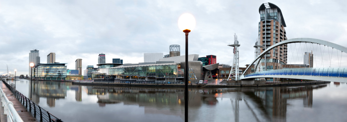 Footbridge「Manchester:  Salford Quays」:スマホ壁紙(2)