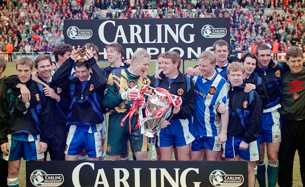 Winning「Manchester United FA Carling Premiership Winners 1995/96」:写真・画像(0)[壁紙.com]