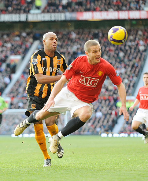 Club Soccer「Manchester United v Hull Premiership Football at Old Trafford 2008」:写真・画像(18)[壁紙.com]