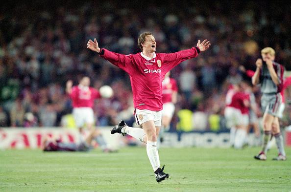 Celebration「Ole Gunnar Solskjaer 1999 UEFA Champions League Final」:写真・画像(18)[壁紙.com]