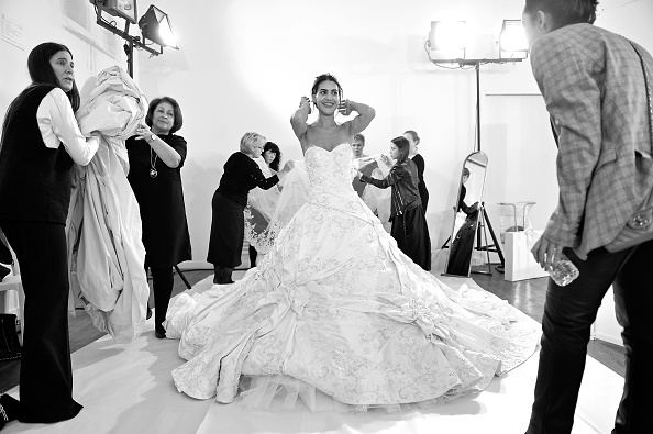 Ralph and Russo「Ralph & Russo : Backstage - Paris Fashion Week - Haute Couture Spring Summer 2018」:写真・画像(3)[壁紙.com]