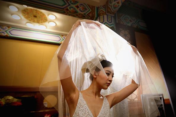 Wedding Dress「Mercedes-Benz China Fashion Week S/S 2014 - Day 3」:写真・画像(7)[壁紙.com]