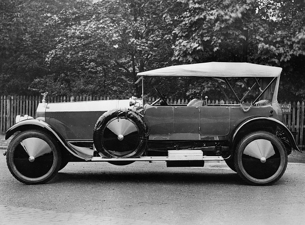 Vintage Car「1920 Rolls -Royce Silver Ghost With Grosvenor Body.」:写真・画像(2)[壁紙.com]