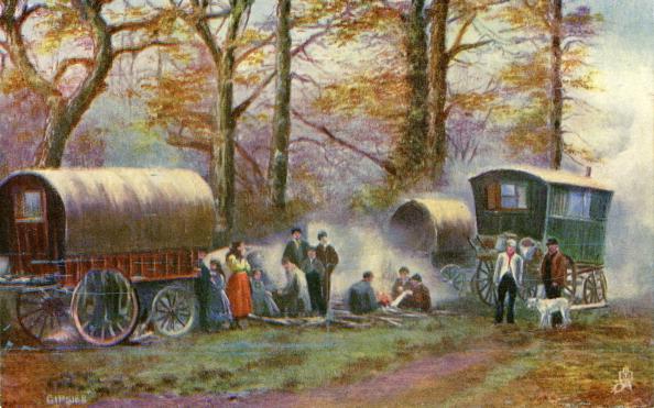 ジプシー「Gypsy camp in the countryside」:写真・画像(10)[壁紙.com]
