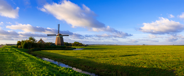 Netherlands「Windmill in Dutch POlder」:スマホ壁紙(12)