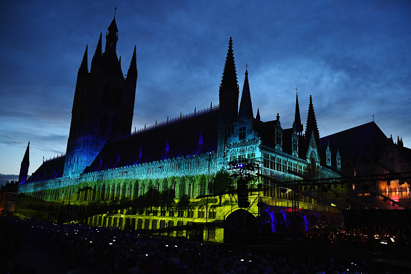 Town Square「100th Anniversary Of The Battle Of Passchendaele Is Commemorated In Ypres」:写真・画像(17)[壁紙.com]