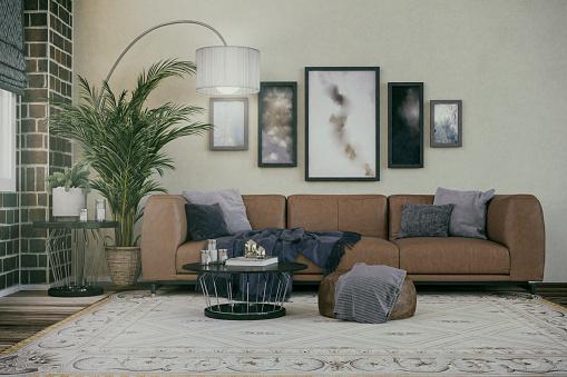 Brick Wall「Comfortable Living room」:スマホ壁紙(5)