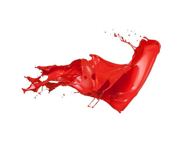 red paint splash:スマホ壁紙(壁紙.com)
