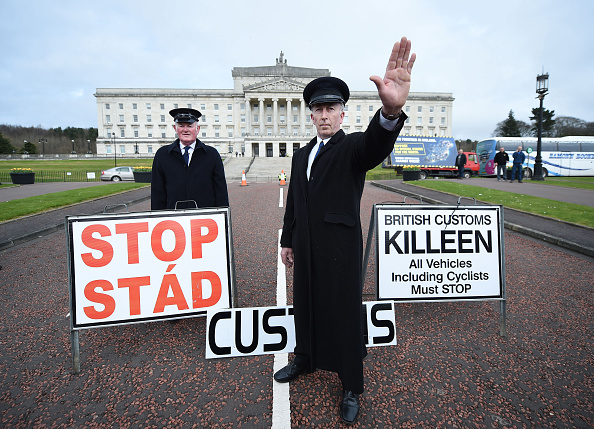 Northern Ireland「Protests As The British Prime Minister Triggers Article 50」:写真・画像(11)[壁紙.com]