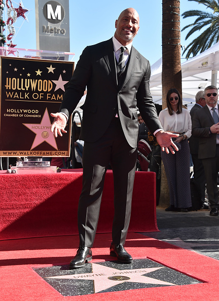 Alberto E「Dwayne Johnson Honored With Star On The Hollywood Walk Of Fame」:写真・画像(9)[壁紙.com]