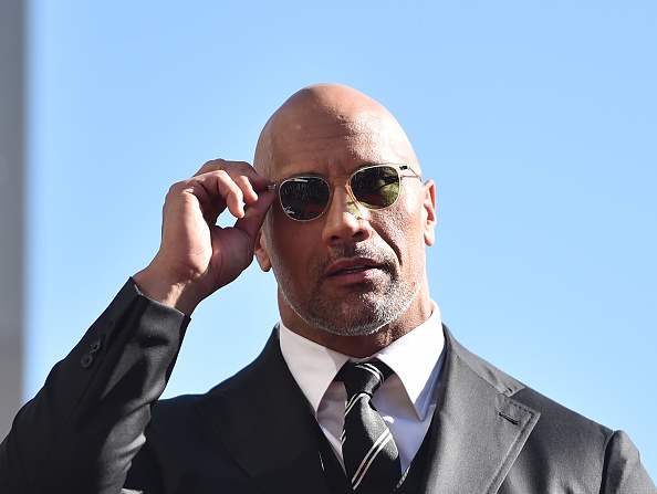 Emotion「Dwayne Johnson Honored With Star On The Hollywood Walk Of Fame」:写真・画像(11)[壁紙.com]