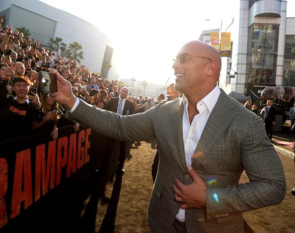 封切り「Premiere of Warner Bros. Pictures' 'Rampage' - Red Carpet」:写真・画像(16)[壁紙.com]