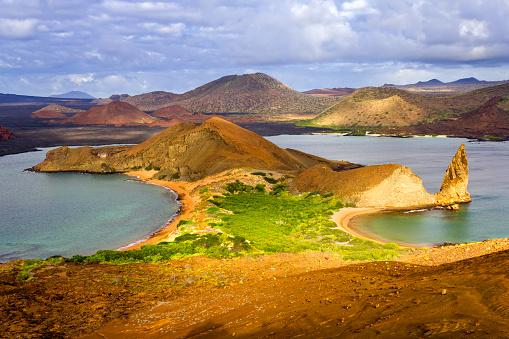 ガラパゴス諸島「バルトロメ島の風景やガラパゴス諸島、エクアドル」:スマホ壁紙(8)