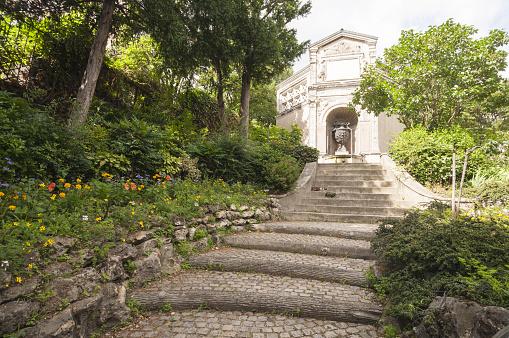 Famous Place「Paris, Montmarte, park」:スマホ壁紙(1)