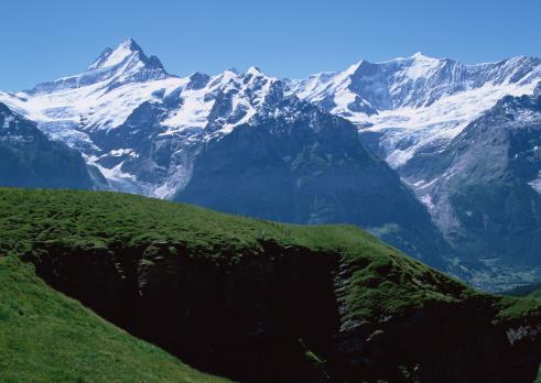 ヨーロッパアルプス「Mountain」:スマホ壁紙(1)