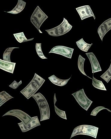 Money to Burn「Money fall」:スマホ壁紙(3)