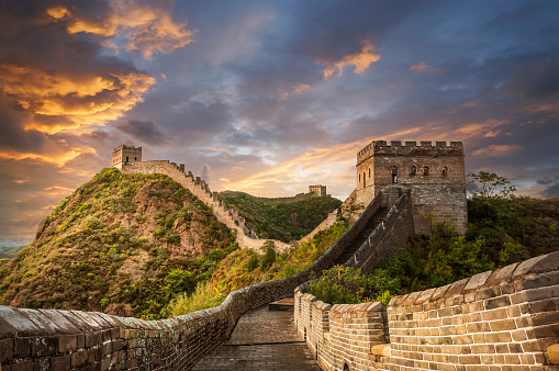 UNESCO World Heritage Site「Great Wall」:スマホ壁紙(5)