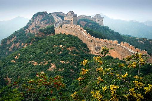 Fortified Wall「Great Wall of China, Luanping, Hebei, China」:スマホ壁紙(9)