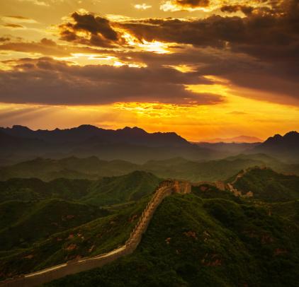 Rock Music「Great Wall in the sunset」:スマホ壁紙(7)