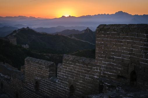 Rock Music「Great Wall in the sunset」:スマホ壁紙(18)