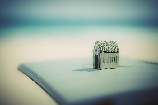 Paper Craft「Home」:スマホ壁紙(19)