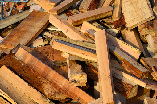 Lumber Industry「Pile of scrap wood」:スマホ壁紙(5)