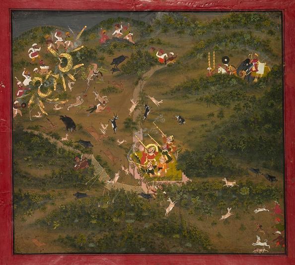 Animals Hunting「Maharaja Jagat Singh Hunting」:写真・画像(14)[壁紙.com]