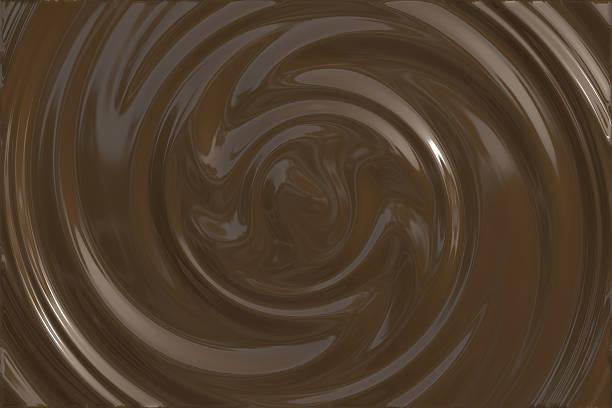 Dark chocolate swirl:スマホ壁紙(壁紙.com)