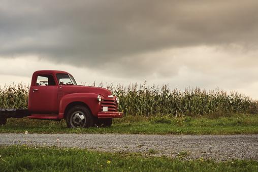 Farm「Vintage Farm Truck」:スマホ壁紙(2)