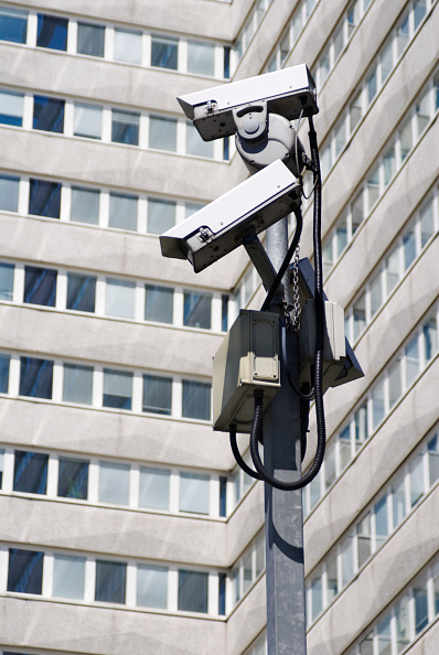 Architecture「Security cameras at Lunar House, home of headquarters of the UK Border Agency, Croydon, South London, UK」:写真・画像(9)[壁紙.com]
