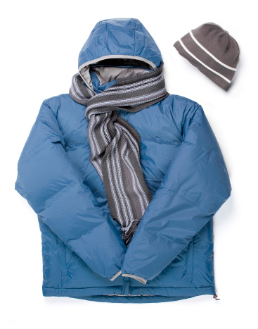 Winter Coat「Winter Parka, Scarf and Cap」:スマホ壁紙(0)