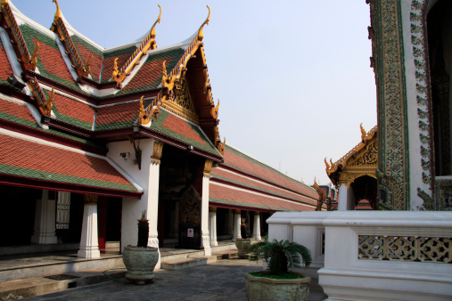 Built Structure「Temple of the Emerald Buddha at Grand Palace」:スマホ壁紙(18)
