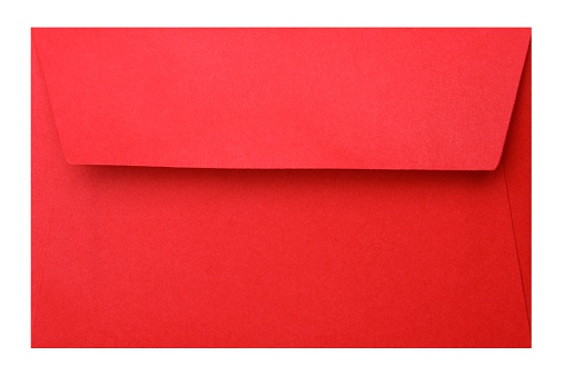Letter - Document「Red Envelope + Clipping path」:スマホ壁紙(19)