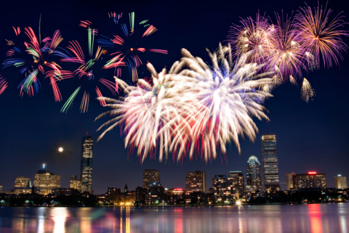 Fourth of July「Boston July 4th National Day Fireworks」:スマホ壁紙(11)