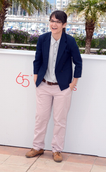 Striped Skirt「Short Film Directors Photocall - 65th Annual Cannes Film Festival」:写真・画像(4)[壁紙.com]
