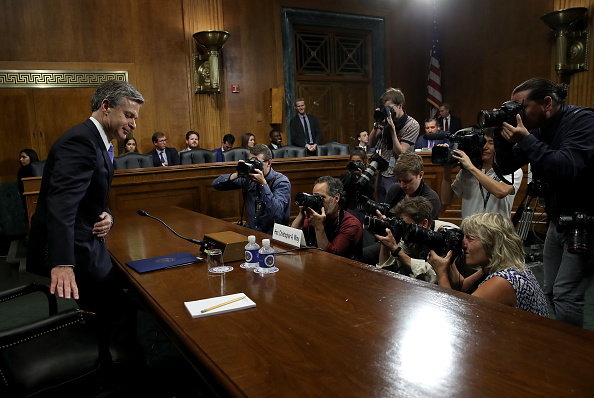 Win McNamee「FBI Director Christopher Wray Testifies Before The Senate Judiciary Committee」:写真・画像(7)[壁紙.com]