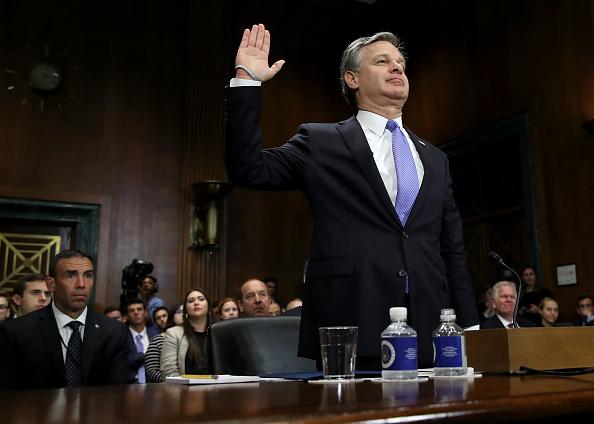Win McNamee「FBI Director Christopher Wray Testifies Before The Senate Judiciary Committee」:写真・画像(6)[壁紙.com]