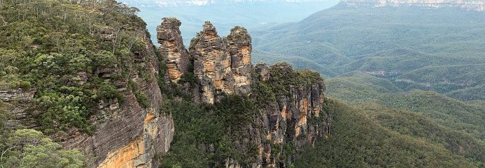 Escarpment「Three Sisters Blue Mountains Australia」:スマホ壁紙(16)