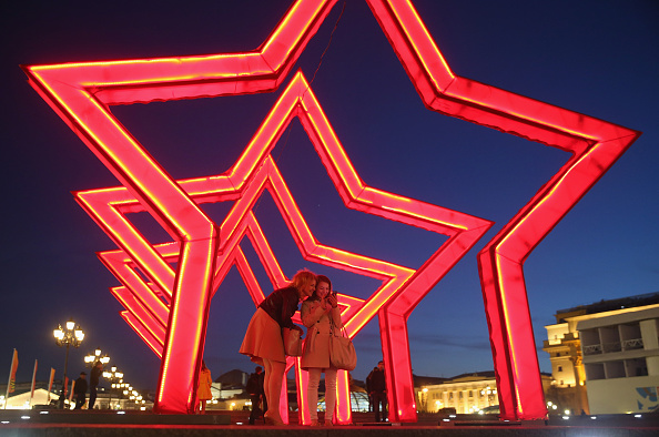 Red Square「Moscow Prepares For WW2 Victory 70th Anniversary Celebration」:写真・画像(15)[壁紙.com]