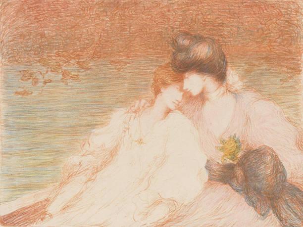 Two Young Women In A Boat Deux Jeunes Femmes Dans Une Barque:ニュース(壁紙.com)