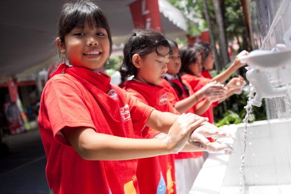 Hand「Global Handwashing Day - Jakarta」:写真・画像(5)[壁紙.com]